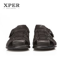 Wholesale 2016 New Brand XPER Men Sandals Shoes Fretwork Breathable Fisherman Shoes Style Retro Gladiator Size BL BU