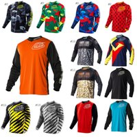 Wholesale TLLD Moto Long sleeve T Shirt Mountain Bike Sprint Sport Jersey Downhill Jersey Motocross Jersey TLLD BMX DH MTB
