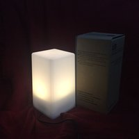 Wholesale Rechargeable Square Shape Bar Light with Yellow Warm Amber Light for Retail or Save Energy