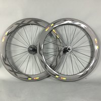 Wholesale 700C F60 Road Bike Carbon Wheels BITEX R13 Hubs mm depth Clincher K matt Carbon Bicycle Wheelset