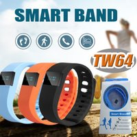 Wholesale FITBIT TW64 Bluetooth Smartband fit bit wrist activity sleep wristband Android Smart Bracelet For iPhone Plus S Samsung Smart Band