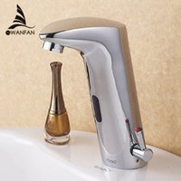 bathroom sink materials - Design Hot And Cold Automatic Hands Touch Free Sensor Faucet Bathroom Sink Tap Bathroom faucet Brass Material