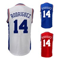 Wholesale 2016 new Men s Sergio Rodriguez jersey Stitched Sergio Rodriguez