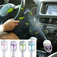 air freshener plug - Car Plug Air Humidifiers Car air freshener Purifier Nanum Vehicular essential oil ultrasonic humidifier Aroma mist car fragrance Diffuser
