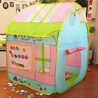 Wholesale Christmas Gift Cute Quality Kids Play Tent Play Game House Indoor Outdoor Toy Tent Children Baby Beach Tent Kids Present