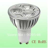Wholesale by DHL x GU10 X3W W Dimmable High Power LED Light LED Spotlight LED Downlight High Quality High power
