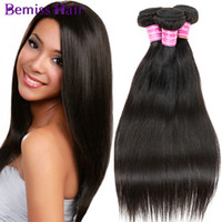 100g±5g best quality hair extensions - Top Best Quality Fashion Women s Straight Health And Beauty Natural Color Brizilian Virgin Human Hair Extension Straight Mixed Sizes Jewelry