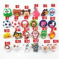 Wholesale Cartoon Soft Gum Children Room Cabinet Drawer Knob Kids Wardrobe Handle Furniture Closet Dresser Pulls for Kids Nursery Rooms
