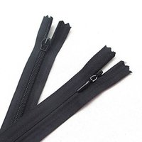 Wholesale 30pcs Black Invisible Zippers Pillow Garment Dress Clothes Cushion inch