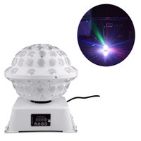 Sound Active ball running - Stage Studio DJ Disco Lighting Special Sound Activated and Auto run Lights RGB Color Changing Rotating LED Magic Light Ball