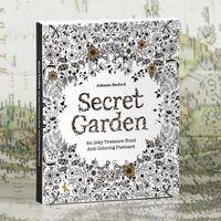 Wholesale 30 postcards per box kids adult drawing coloring books decompression Graffiti Painting Secret Garden Relieve Stress
