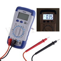 Wholesale New A830L LCD Digital Multimeter DC AC Voltage Diode Freguency Multitester