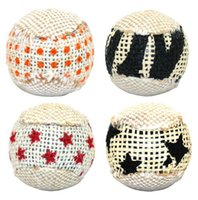 Wholesale Ball Cat Toy Interactive Cat Toys Play Chewing Rattle Scratch Catch Pet Kitten Cat Exrecise Toy Balls