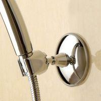 Wholesale Professional Adjustable Bathroom Shower Rack Head Held Holder Suction Bracket Silver