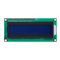Wholesale 1pcs HD44780 Controller x2 Character LCD Display Module Blue Screen Backlight
