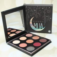 Wholesale 2017 New Makeup Manny MUA Cosmetics Eyeshadow Manny MUA eyeshadow Pressed Powder Kit Palette Long lasting Matte