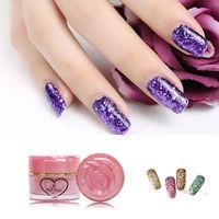 Wholesale Byfunme Shine Star Chan can Soak Off extend color gel HOt sale Fashion color Beauty