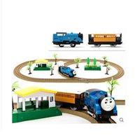 Precio de Trains-Hot Selling Thomas barato y amigos Carril de juguete de coches eléctricos Diecast para los niños trenes ferroviarios niños Mejor regalo de Navidad