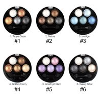 baked band - New Band Color Baked Eyeshadow Palette Powder Metallic Shimmer Nude Makeup Eye Shadow Bright Stereo Cosmetic Eyeshadow