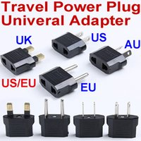 australia electrical socket - Universal travel Power plug Converter Electrical AC Wall socket US EU to USA UK EU AU Europe Australia outlet charger adapter