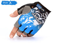 Wholesale 2017 Cycling Gloves Half Finger Mens Women s Summer Bike Bicycle Gloves Nylon Sport Mountain Bike Gloves Guantes Ciclismo