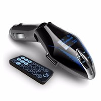 Wholesale Car Mp3 Player Wireless FM Transmitter Colors LCD Screen Car Audio MP3 Player Music Player FM Modulator With Remote