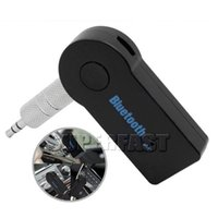 Wholesale Universal mm Car A2DP Wireless Bluetooth Car Music Receiver Adapter Handsfree For Mobile Phone Car Wireless Technology Retail Package
