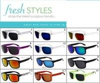 al por mayor gafas de sol originales-Sunglasse caliente de los deportes de ciclo con los vidrios polarizados paquete originales gafas de sol del diseñador de la marca de fábrica al por mayor