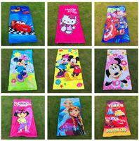 Wholesale 2016 Cotton kids cartoon Bath Towel baby Blankets cm Frozen minions avengers spiderman bath towel