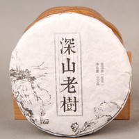 Wholesale G Raw Puer Tea Pu er Green Shen Puer puerh Pu er slimming tea chinese tea food Yunnan Menghai Freeshipping