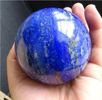 Wholesale Natural lapis lazuli Obsidian crystal ball decorative furnishing articles The original stone grinding a variety of specifications