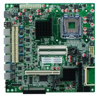 Wholesale G41 firewall motherboard GbE LAN LGA771 with BYPASS supporting CF SSD IDE
