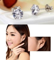 Wholesale Stud Sterling Silver Earrings for Women Men Jewelry