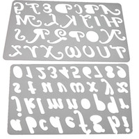 alphabet stencils - Capital Letter Alphabet Metal Cutting Dies Stencils for DIY Scrapbooking Decorative Craft Photo Album Embossing DIY Paper Cards