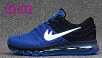 Wholesale 2017 Mens Air Sports Max Kpu Running shoes Fashion Athletic Walking Training Sporting Shoes Sneakers size
