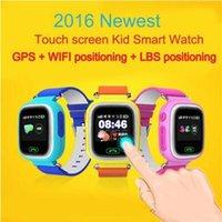 GPS / GSM Q90 Reloj pantalla táctil WIFI Posicionamiento Smart Watch niños SOS Llame Ubicación Finder Dispositivo Anti Lost Recordatorio PKQ60Q80