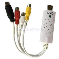 Wholesale new uvc digital analog converter convert DVD VHS TV video for MAC Linux Windows no driver required