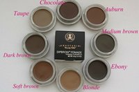 Wholesale WHOSALE Dip brow Pomade Waterproof Eyebrow Enhancers Eyebrow Gel Eyebrows Eyebrow Cream Cream Full Size NEW colors In Stock