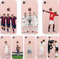 abs football - Phone cases For iphone Plus cute cartoon football stars ultra thin Soft TPU Cases For iphone S Back protective Cover