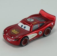 Wholesale Pixar Cars Radiator Springs No Maikun Diecast Metal Car Toy for children Loose in Stock first generation Lightning McQueen