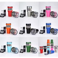 Wholesale yeti coolers Tumbler Rambler Cups Yeti Cups oz oz oz Yeti Sports Mugs Large Capacity Stainless Steel Tumbler Mugs