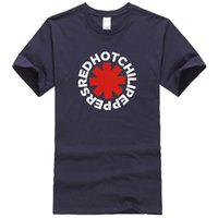 alternative rock fashion - New Rock Brand Red Hot Chili Peppers T Shirts Mens T Shirt Camisetas Hombre nk Punk Rap Alternative Casual Tees Tops