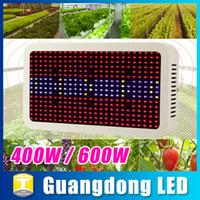 Wholesale 400W Led Grow Light Full Spectrum SMD Chips Grow Light for Hydroponics Greenhouse Plants Growing Flowering Indoor Plant Lamp Free DHL