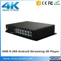 Vente en gros - 2015 haute qualité Uhd Video Player sexe chaud coaxial optique 4K Player TV boîte Digital Signage Media Box