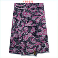 Wholesale veritable dutch real prints wax African clothing Nigeria s style high quality super wax for wedding yard YBG