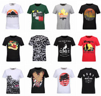 Wholesale New Robin T shirt Mens robin jeans shirts Man PP T shirt men bottoming DSQ2 shirt t shirt tops shorts size M XL