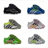 Wholesale youth Ace purecontrol soccer boots Pure Control Football Shoes Kid Soccer Cleats Boots Cheap Original Quality Boy Girl Foo