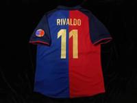 Wholesale 98 CUSTOMIZED RIVALDO SPORTS SHORT SLEEVE JERSEYS