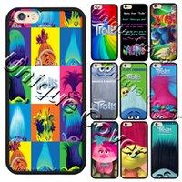 apple trolls - Trolls Poppy Branch Elves Biggie Case For iphone s plus Hybrid TPUPC Phone Case Free Gift