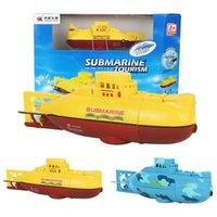 Wholesale CH Speed Radio Control Electric Mini RC Submarine Kids Children Toy Toys
